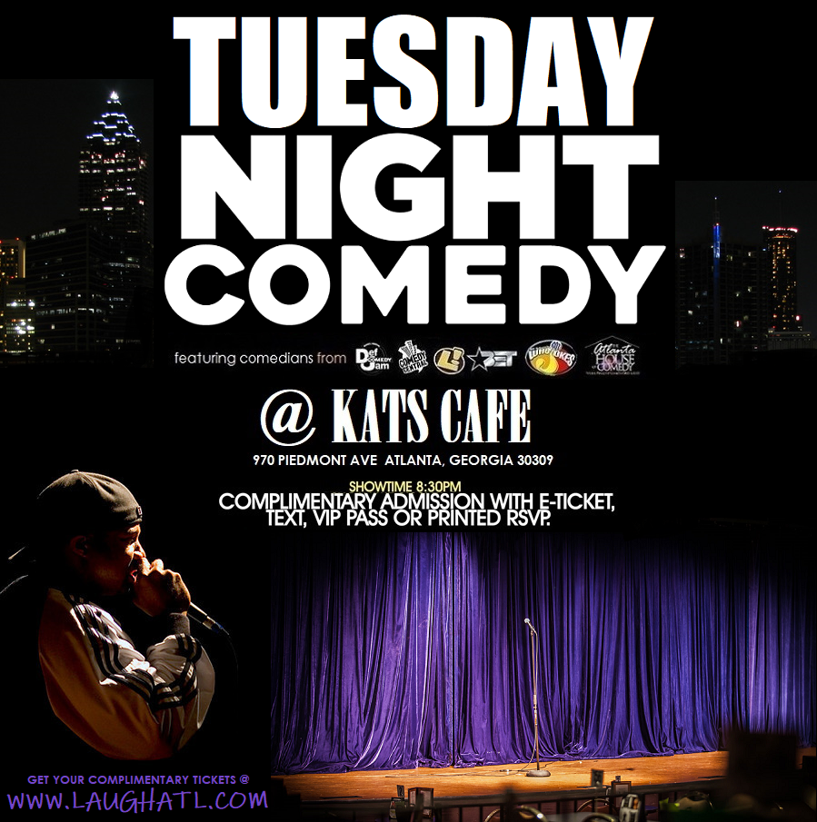 Tuesday Night Comedy at Kat's Cafe
