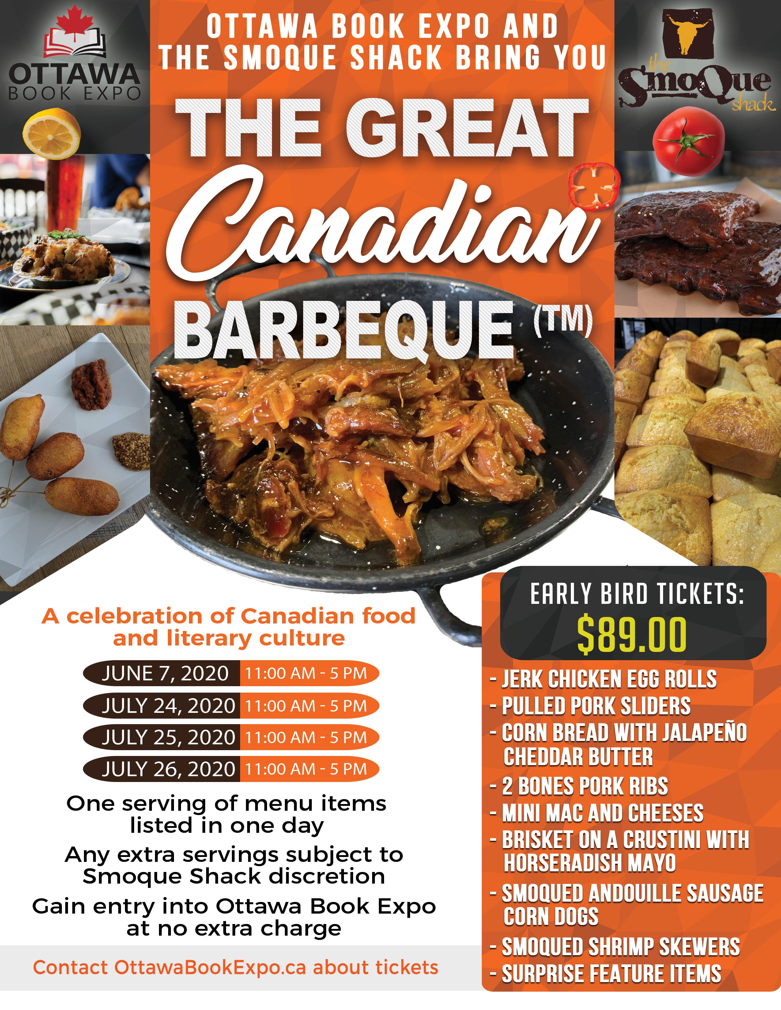 Ottawa Book Expo - Great Canadian Barbeque