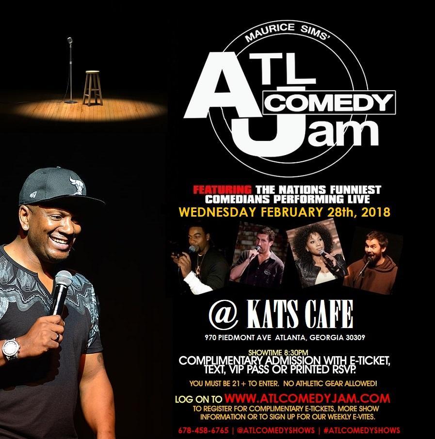 ATL Comedy Jam Tuesday's