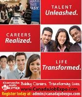Canada Job Expo (Free Admission)