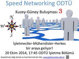 Speednetworking ODTU 3