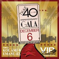 TEMPLE KOL AMI EMANU-EL'S 40TH ANNIVERSARY GALA