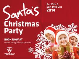 Santa's Christmas Party 2014 @ Topgolf Surrey