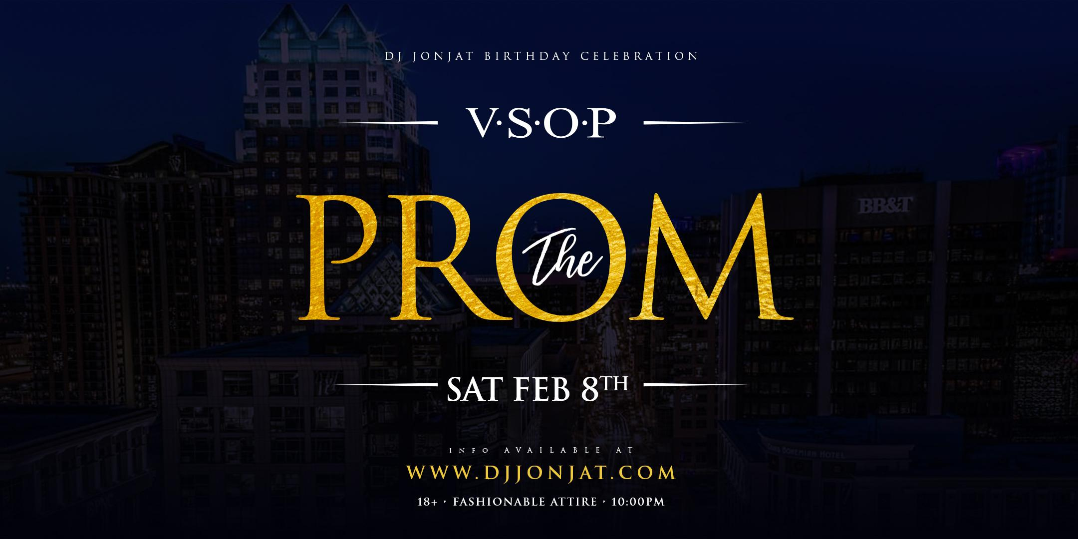 VSOP 2020   THE PROM