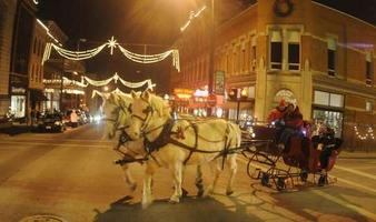 Christmas Time In the City, Carriage Rides