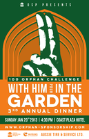 With Him In The Garden OSP 3rd Annual Fundraising...