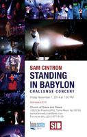 Sam Cintron SIB Standing Babylon Concert Fri Nov 7 in...