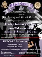 Pre-Inaugural Black Tie Gala