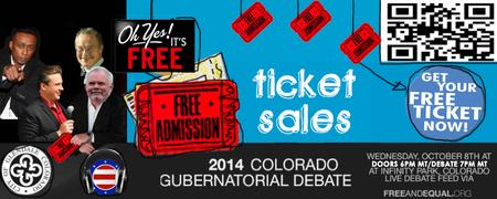 2014 Colorado Gubernatorial Debate hosted by Free and...