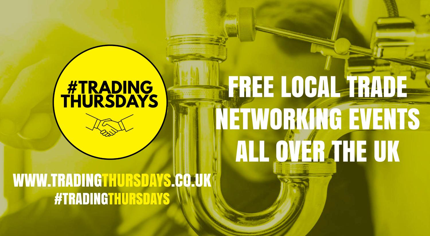 Trading Thursdays! Free networking event for traders in Wakefield