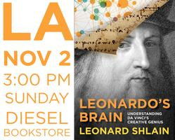 Leonard Shlain's Book Launch @ Diesel Bookstore Nov...