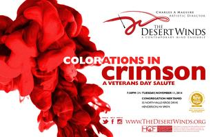 Colorations in Crimson - A Veterans Day Salute
