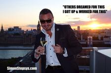 Simon Stepsys Internet Marketing Multi Millionaire, Author, Speaker, Mentor, Inspirer, Motivator logo