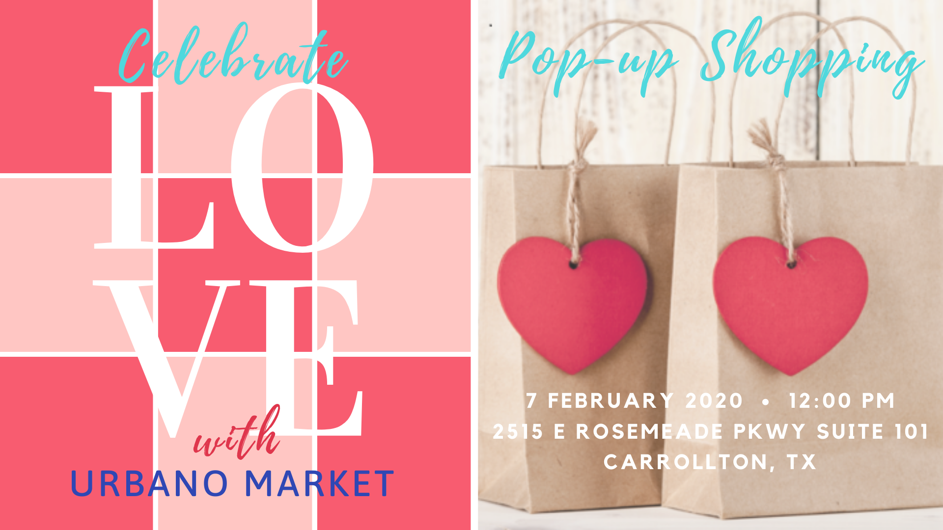 Celebrate Love with Urbano Market