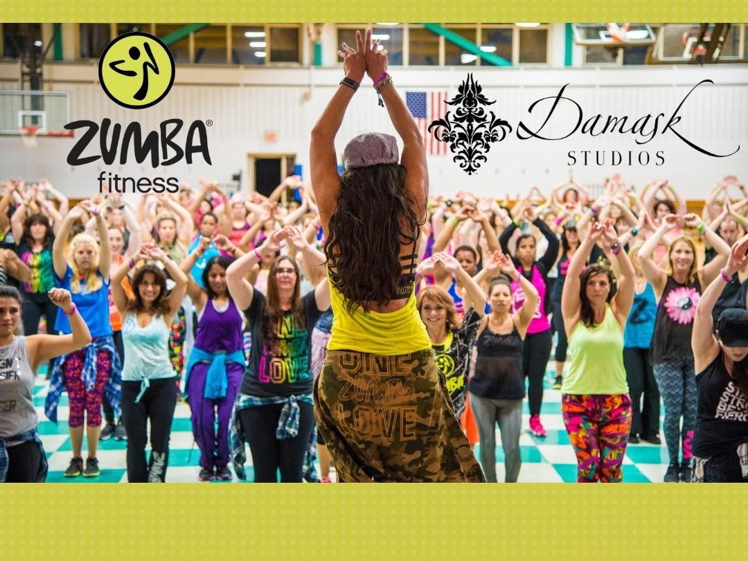 Zumba Fitness - $12 drop in @ Damask