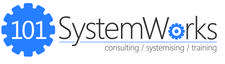 Les Gutteridge from 101 Systemworks logo
