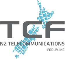 New Zealand Telecommunications Forum (TCF) logo
