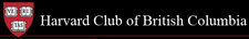 Harvard Club of British Columbia logo
