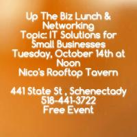 Up The Biz Lunch and Networking