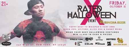 WHISPER NYC: X-RATED HALLOWEEN III @ BB KING - 3000+...