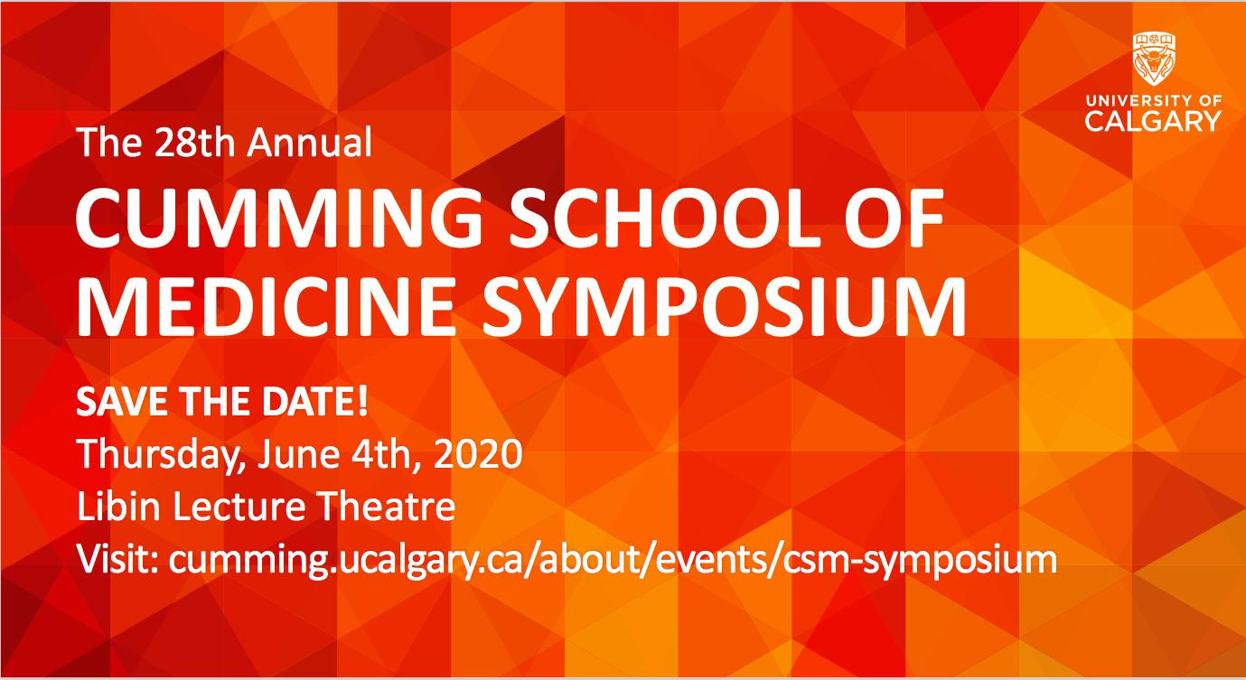 28th Annual Cumming School of Medicine Symposium