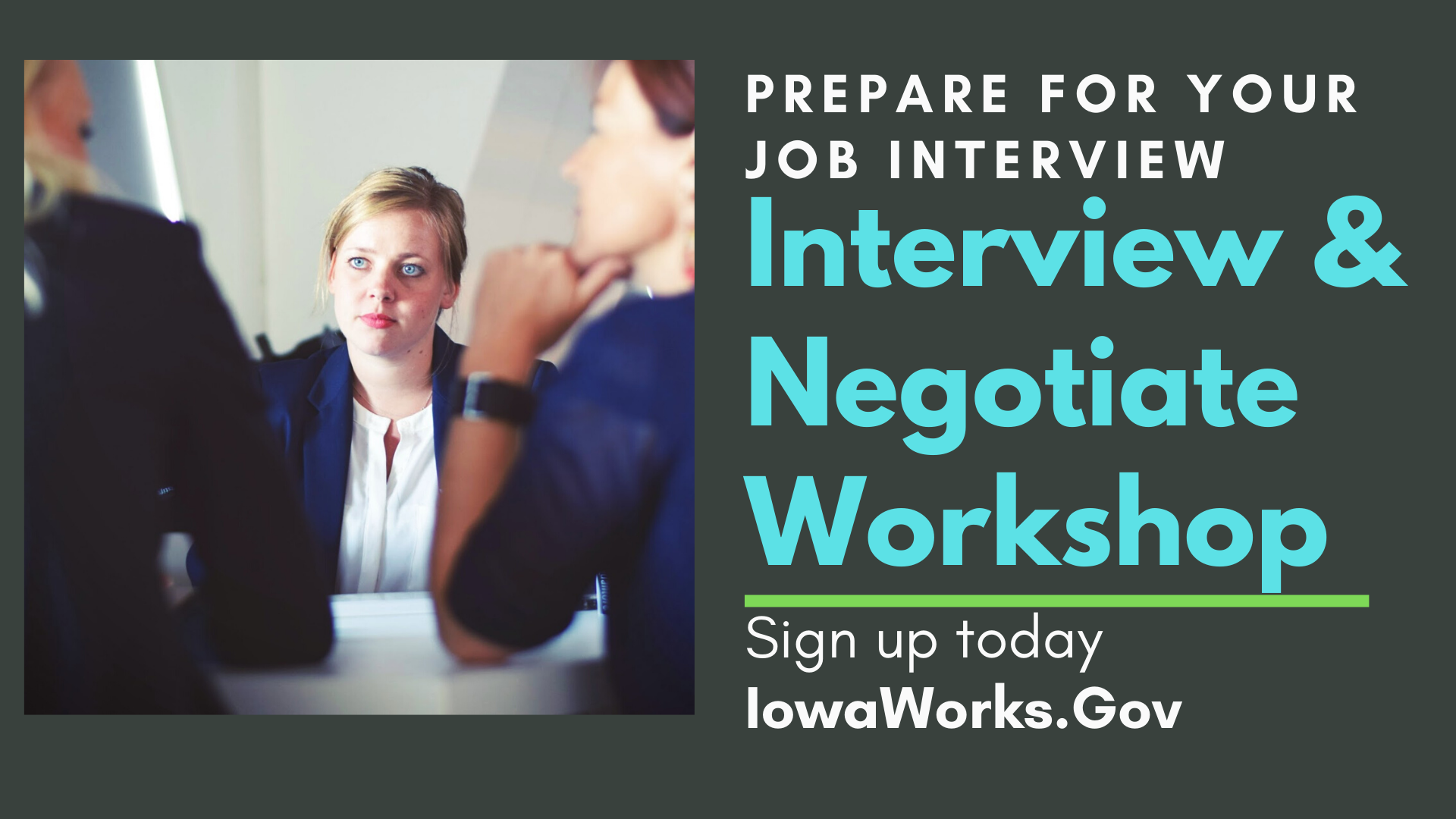 Interview and Negotiate
