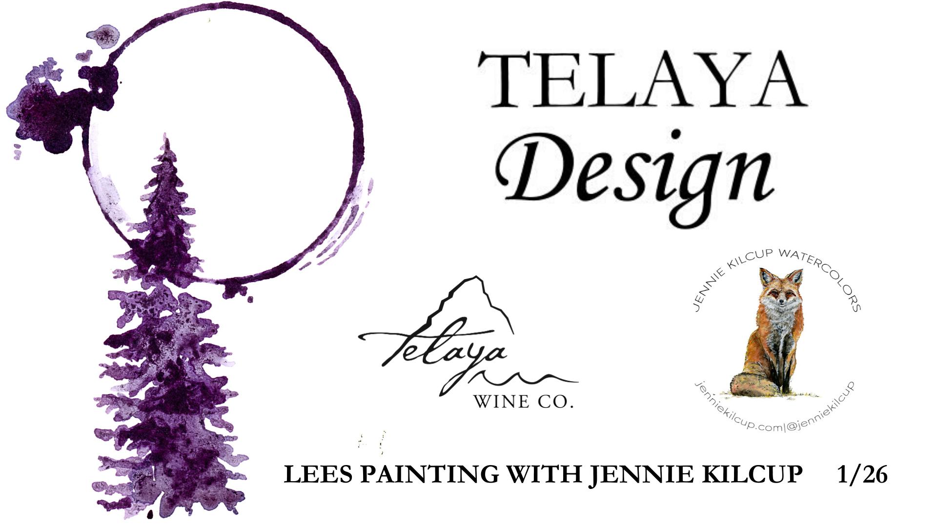 Telaya Design: Lees Painting with Jennie Kilcup