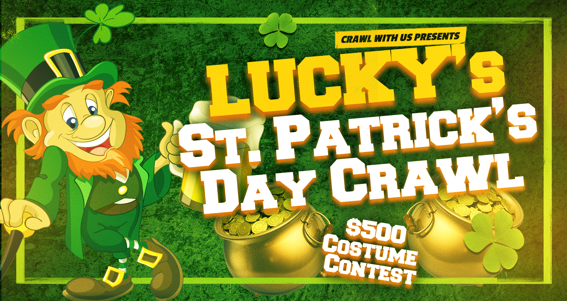 Lucky's St. Patrick's Day Crawl - Seattle
