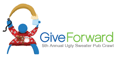 GiveForward's 5th Annual Ugly Sweater Pub Crawl