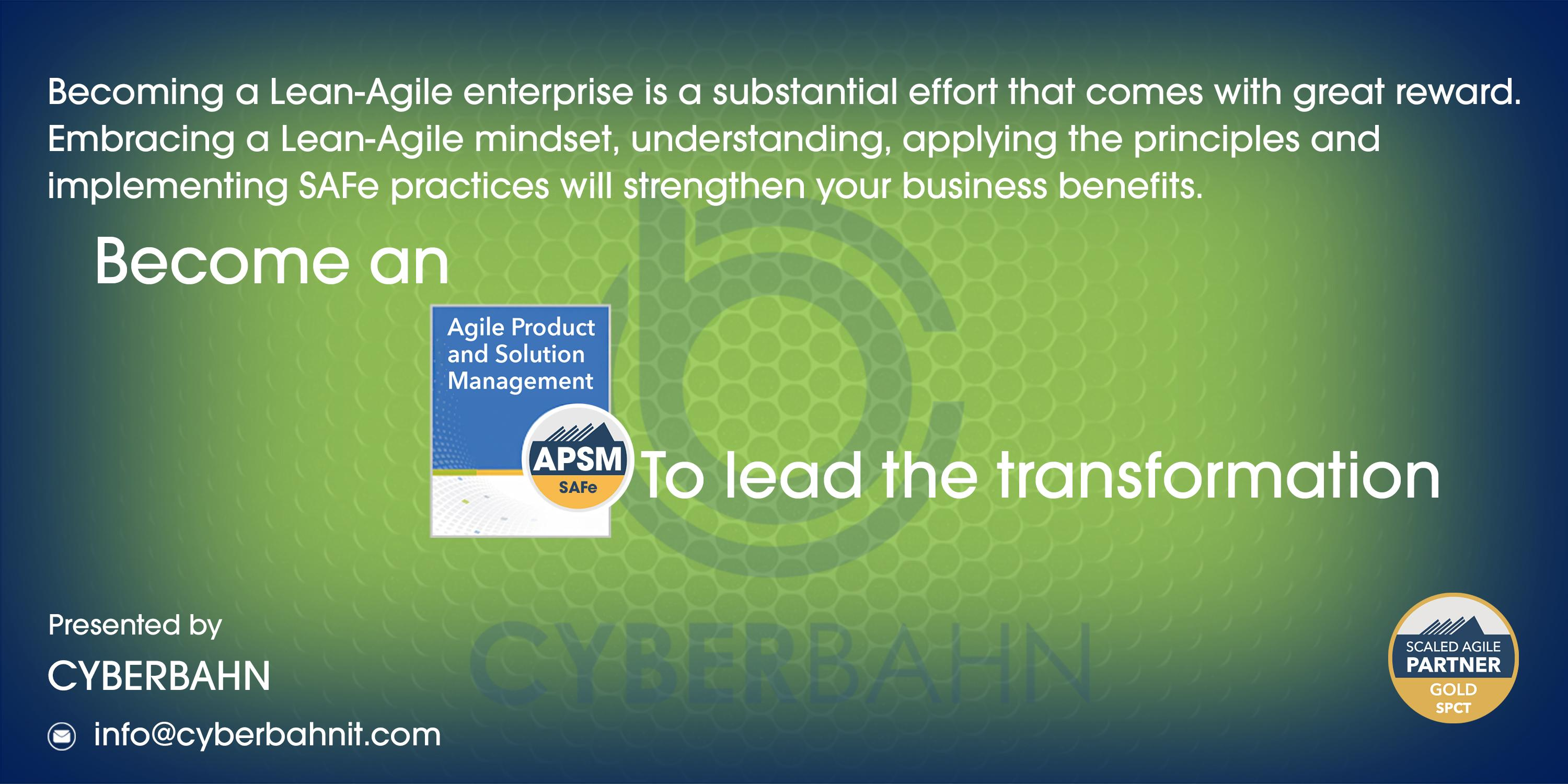 Agile Product and Solution Management (APSM)-5.0