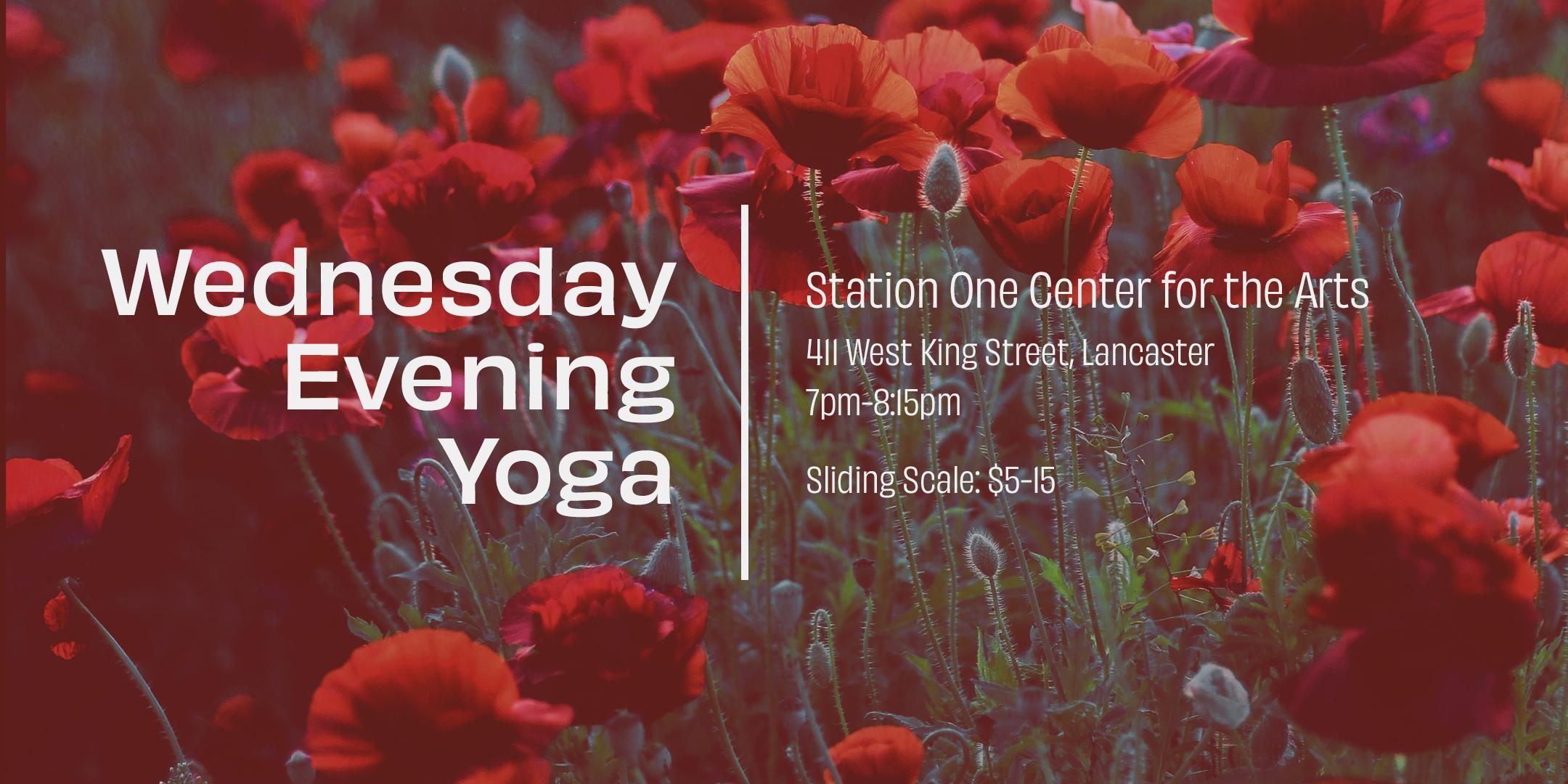 Wednesday Evening Community Yoga