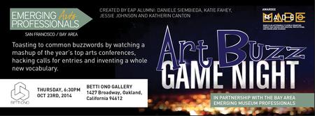 Art Buzz: Games about the art world (Oakland)