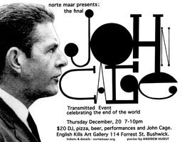 The Final John Cage Transmitted Event celebrating the e...