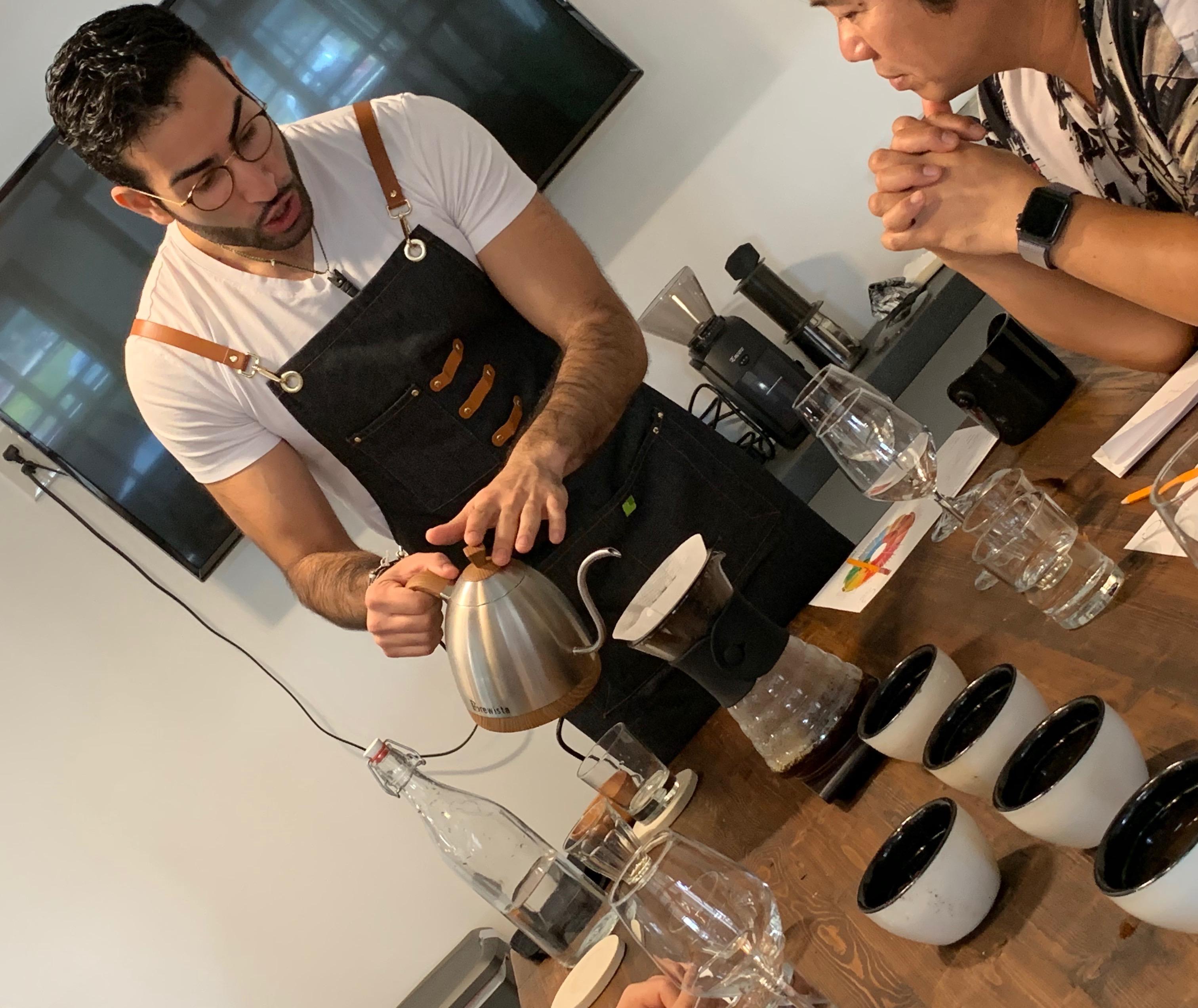 Specialty Coffee Tasting Workshop