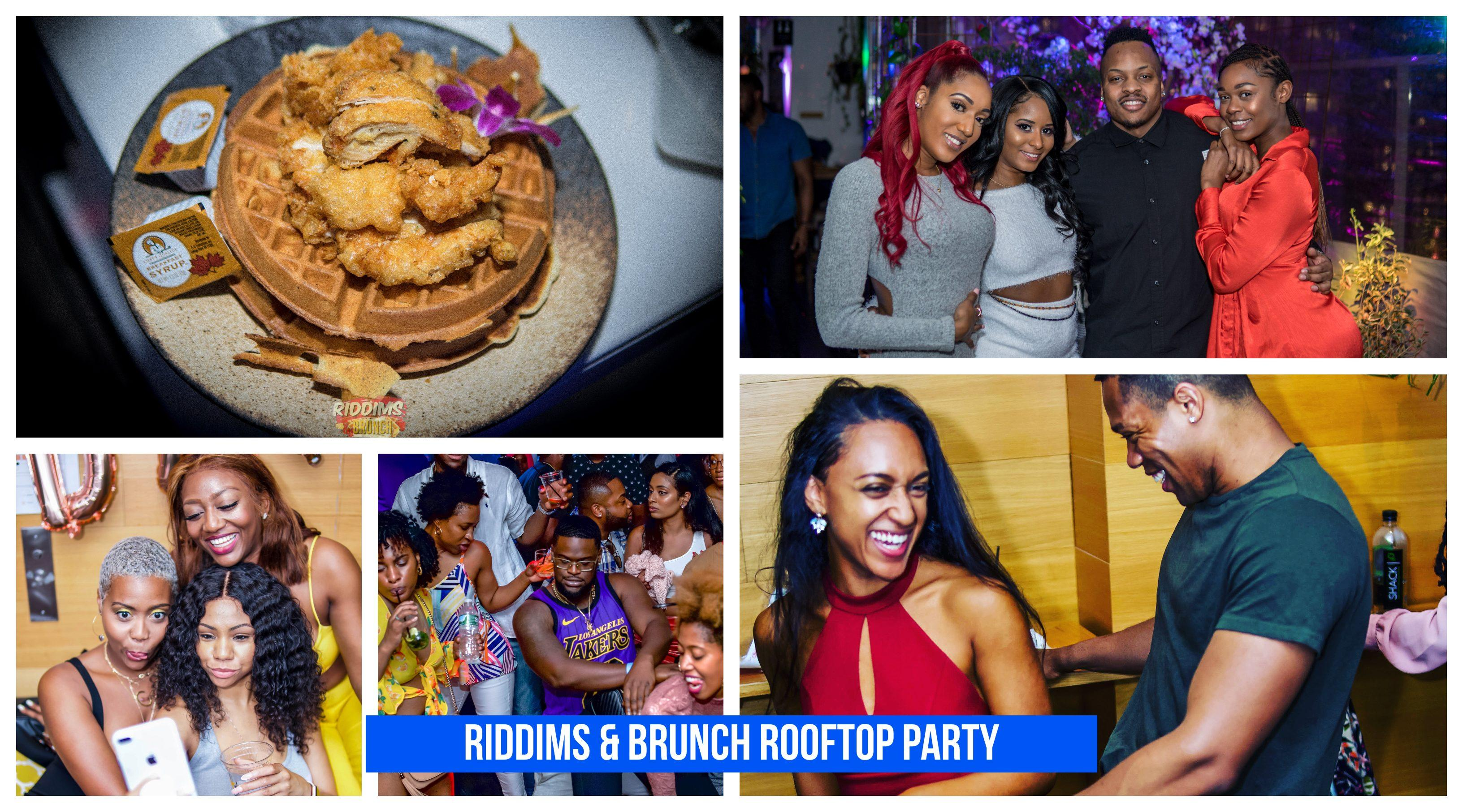 Riddims & Brunch Rooftop Party