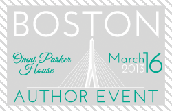 Boston Author Event