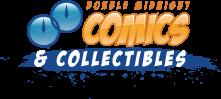 Double Midnigh Comics/Granite State Comicon logo