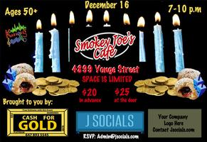 Chanukah 2012 with JSocials (50+)