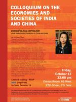 Colloquium on the Economies and Societies of India and...
