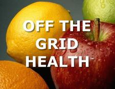 Off The Grid Health: Food & Fitness logo