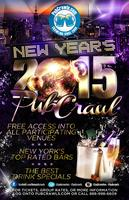 New Year's Eve NYC All Access Pub Crawl Pass