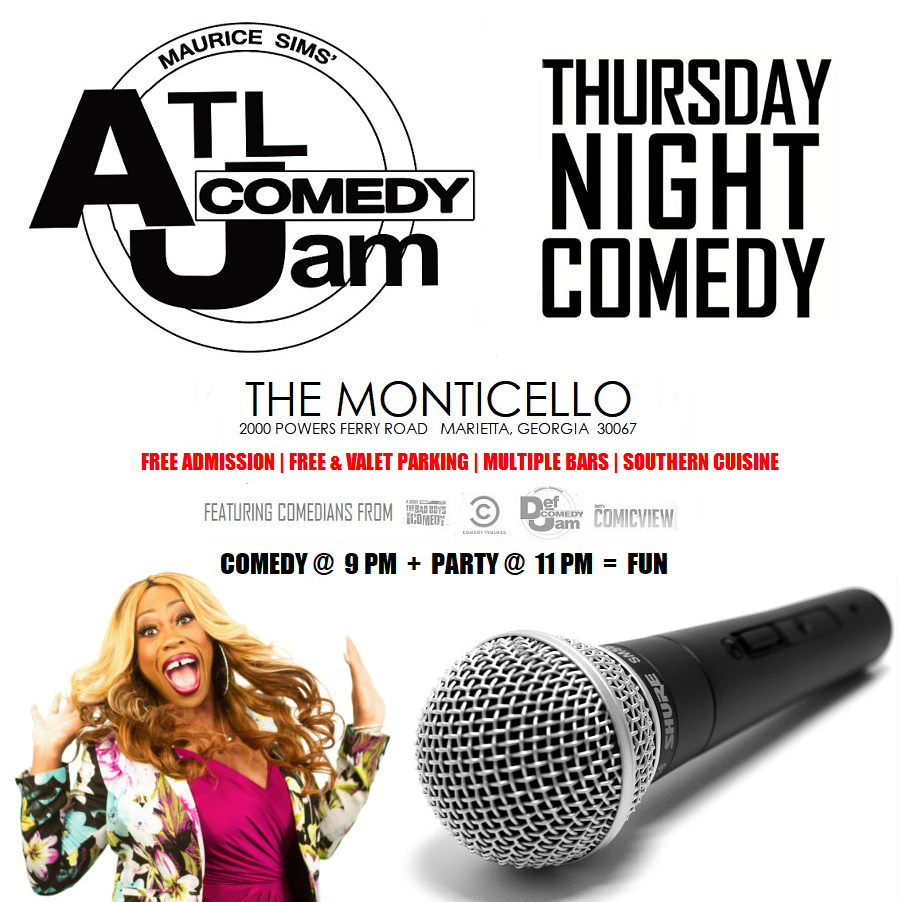 Thursday Night Comedy @ Monticello