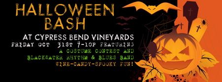 Halloween Bash at Cypress Bend Vineyards