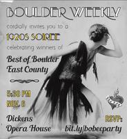 Best of Boulder - East County Celebration!