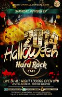 Hard Rock Cafe Boston Halloween Thriller