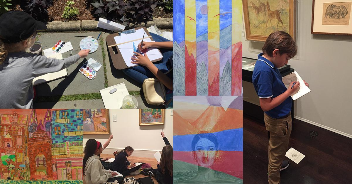On-Site Art After-School Classes for ages 9 to14