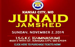 Junaid Jamshed @ Kansas City, MO on Sunday, November...