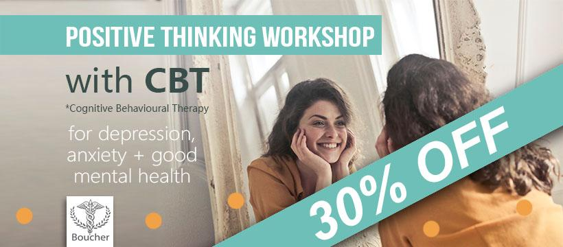 Positive Thinking Workshop with CBT therapy