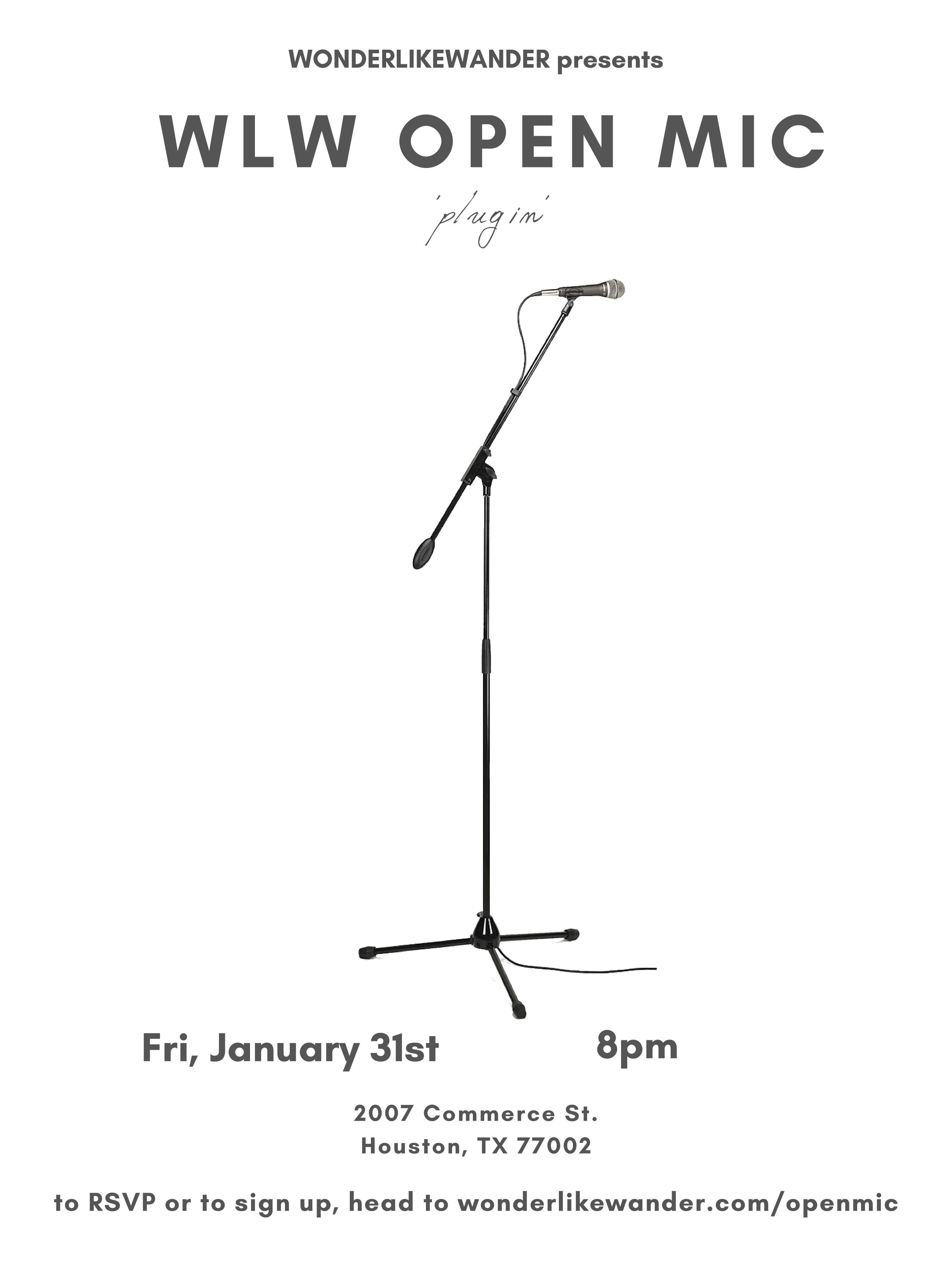 WLW Open Mic