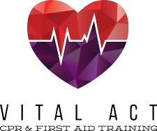 Vital Act CPR & First Aid Training logo